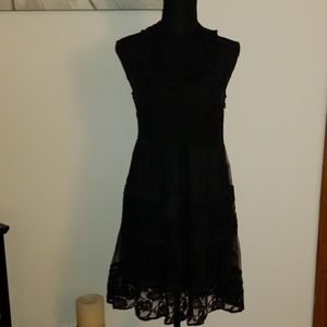 Rebellion Tiered Lace Dress